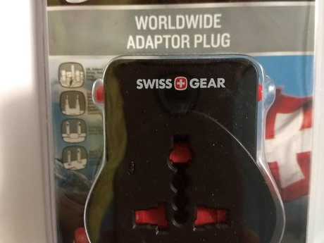 Swiss Gear World Wide Adaptor Plug