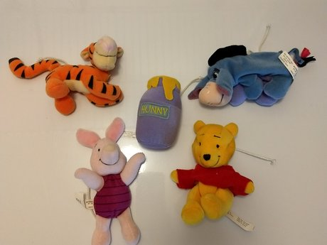 Pooh and Friends  plush