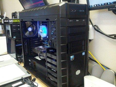Server build technician