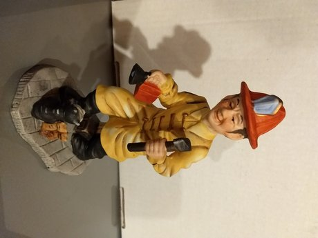 Collectible Vintage Fire Fighter