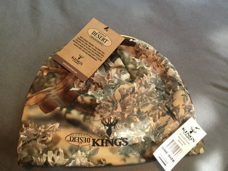 Kings camo reversible beanie