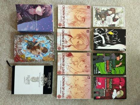 Japanese Manga + Novels