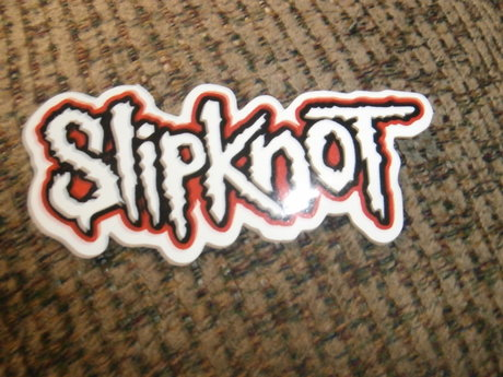 Slipknot band sticker