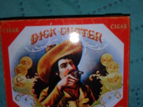 Dick Custer Vintage Tin