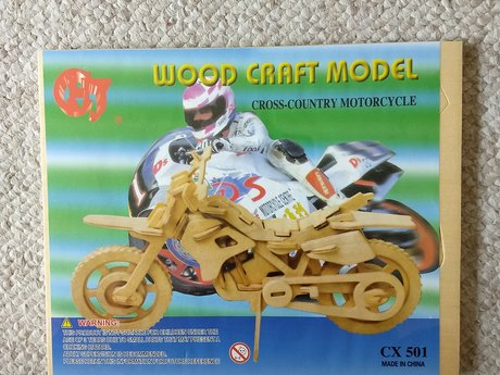 Woodcraft Cross Country Motorcycle
