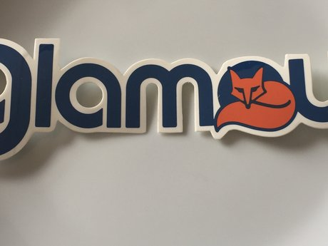 Glamour Fox sticker