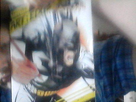 Art and edge Batman coloring book