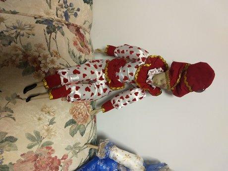 Red/white harlequin