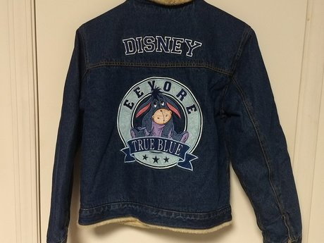 Original Disney Eeyore Jeans Jacket