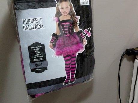 Ballerina costume size 4-6