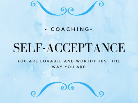 Coaching in self-acceptance