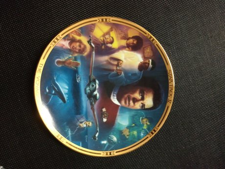 Collectible Star Trek Plate