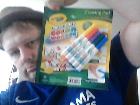Mess Free marker Drawing pads