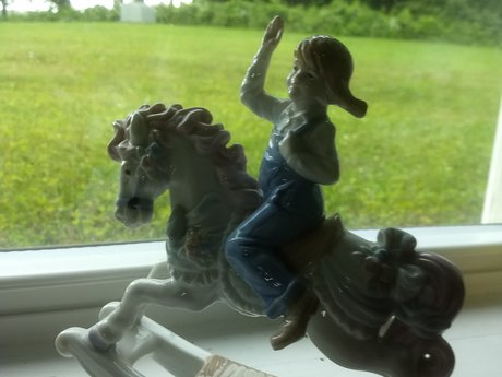 Carrousel Horse and Rider