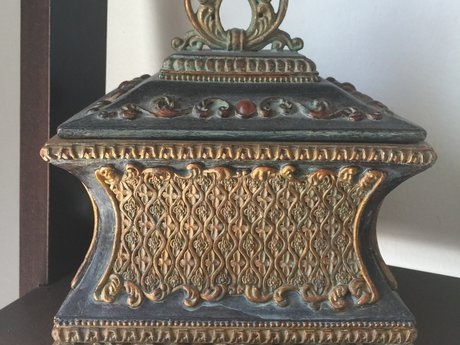 Cherish Box~~Urn~very old