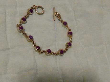 Beautiful Silver Mexican Bracelet