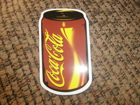 Coca-Cola Can Sticker