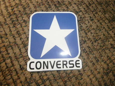 Converse All Star Logo Sticker