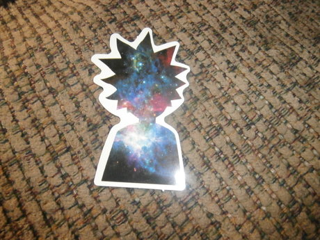 Galaxy Rick & Morty Sticker