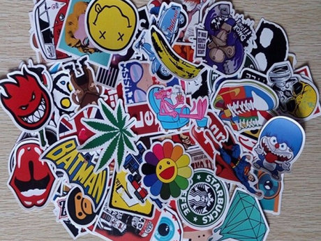 50 Random Stickers