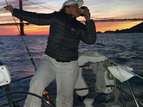 Sailing in Sausalito