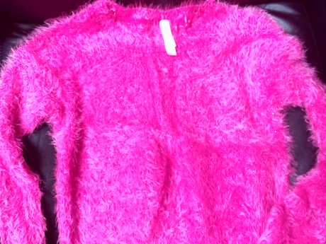 Pink Sweater - Sz. 10 - Gently Used