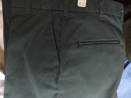 Green Cintas Work Pants 29/30 NWT