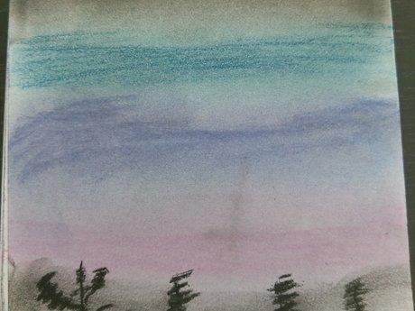Pastels Sketch