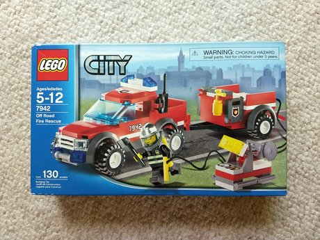 Lego Off Road Fire Rescue NEW