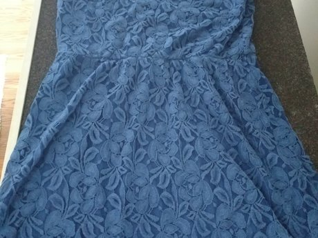 Blue Dress - Size 12 - Gently Used