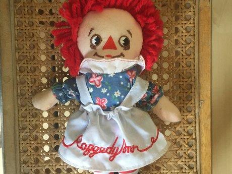 Small Vintage Raggedy Ann Doll