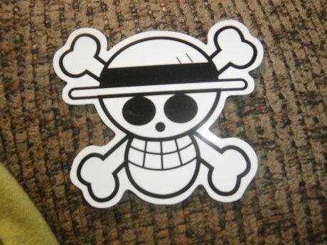 Anime One Piece Sticker