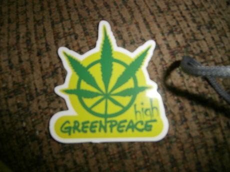 Marijuana Sticker