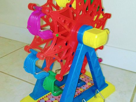 Toy Ferris wheel