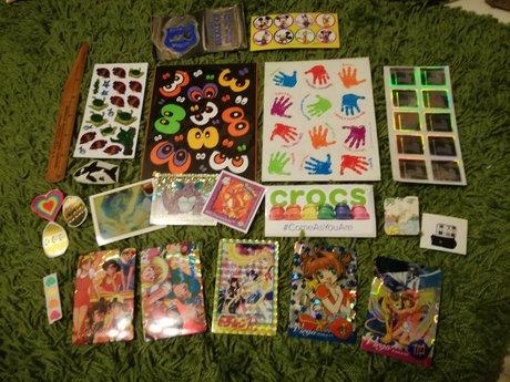 Sticker dump