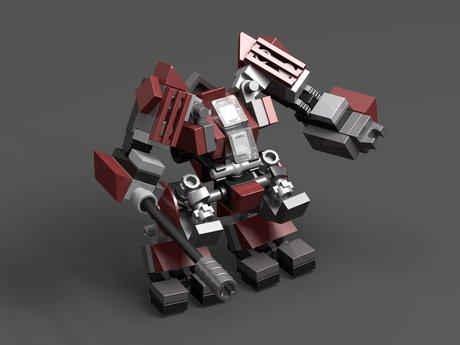 Design a Lego Robot
