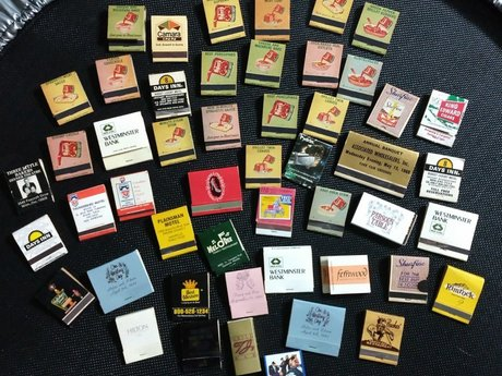 Vintage Match Box Collection
