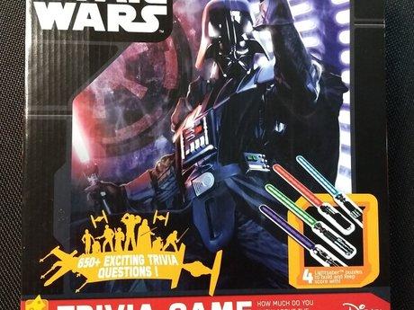 Star Wars Trivia Game NEW