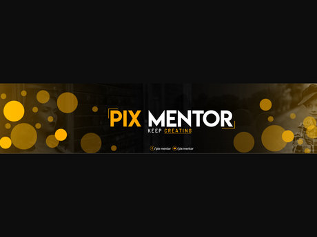 I will design your P youtube banner