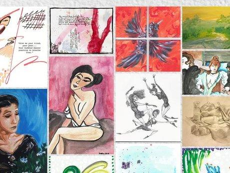 Art prints 5x7