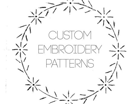 Custom Embroidery Pattern