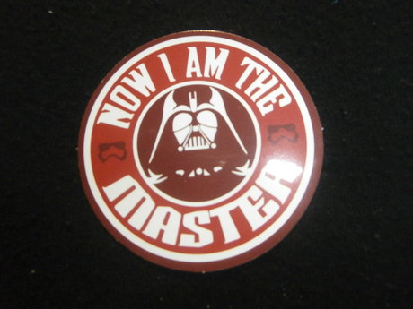 Master Darth Vader sticker