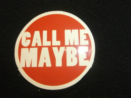 call me maybe sticker