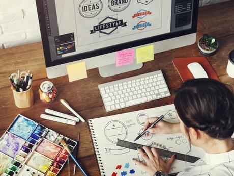 Provide logo design feedback