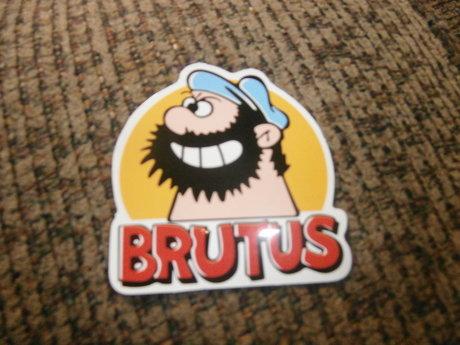 Brutus from Popeye Sticker