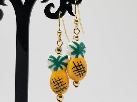 Cute Pineapple Earrings