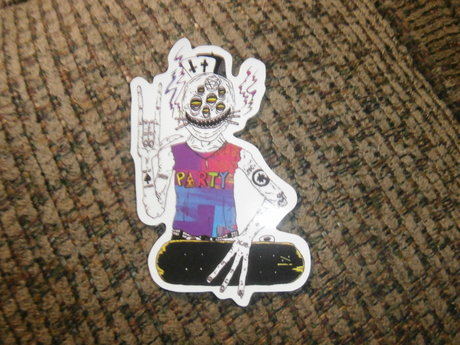 cool skateboard sticker