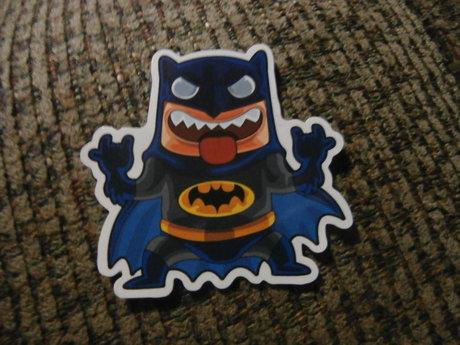 silly batman sticker