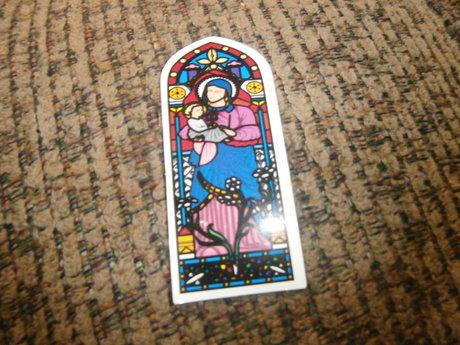 Church Window sticker