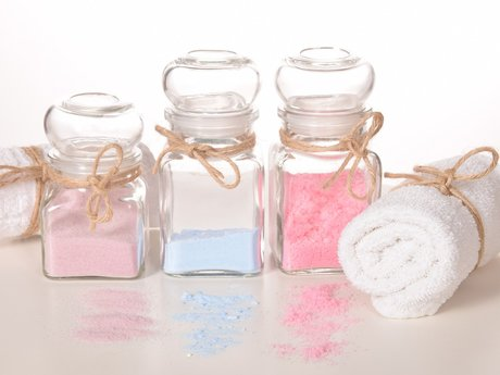 Make your own bath Salts/ body Scru